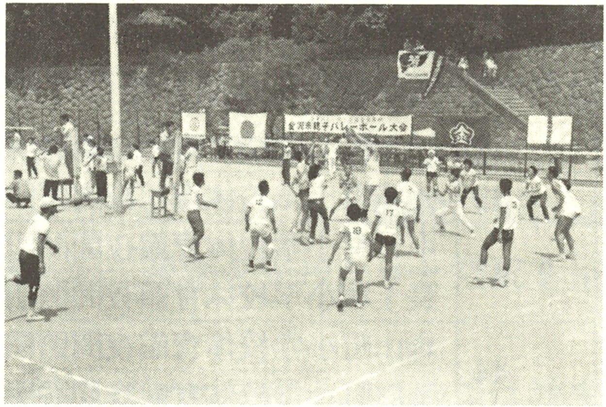 金沢市親子バレーボール大会
